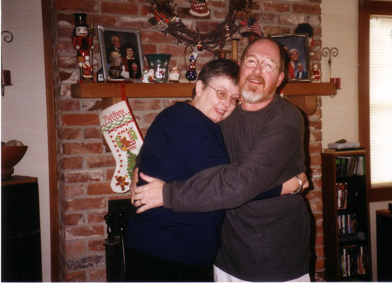 Mom and Dad at Lindas