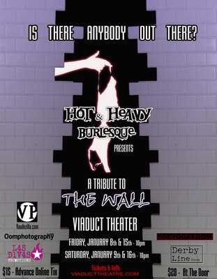 Burlesque Tribute to Pink Floyd's The Wall